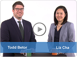 Eversheds Sutherland attorneys Todd Betor and Elizabeth Cha